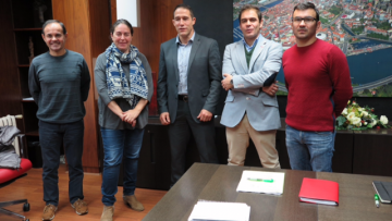 Reunión concello Pontevedra