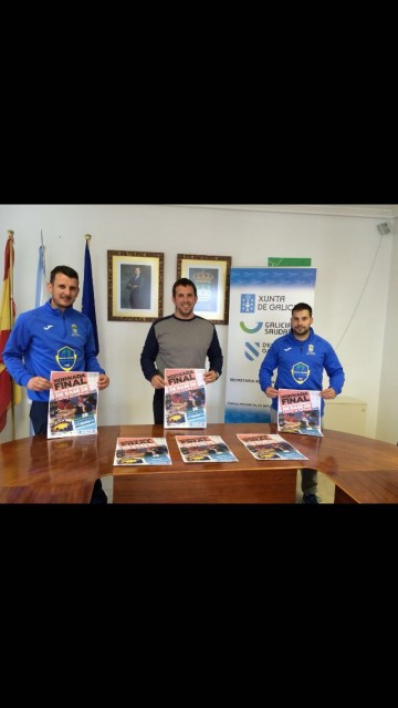 Ramón García, Diego Pallares e Rubén Méndez
