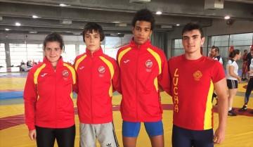 Deportistas Galegos para o Cto de Europa cadete web