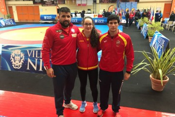Jose Cuba, Noelia Lalín e Pablo García