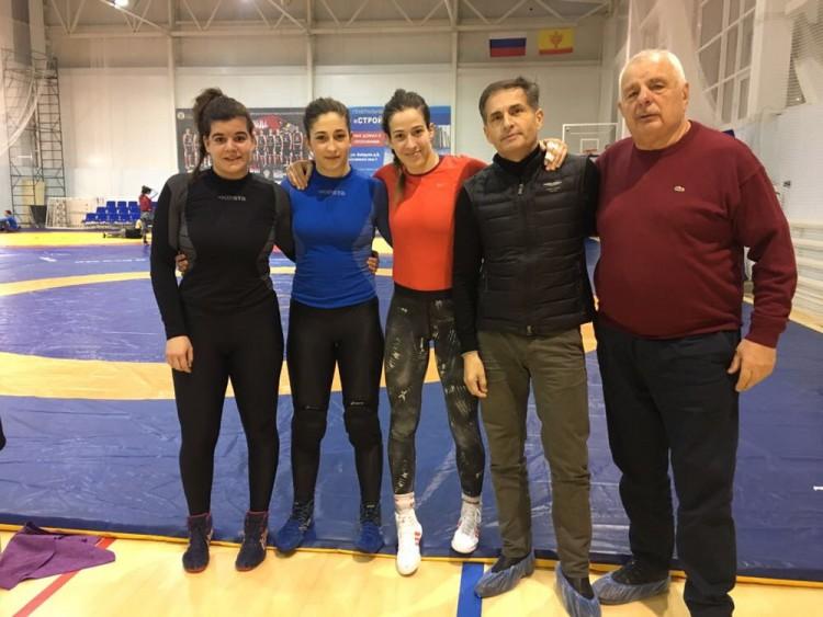 Judit, NErea, Lydia, Olazabal y Alexander