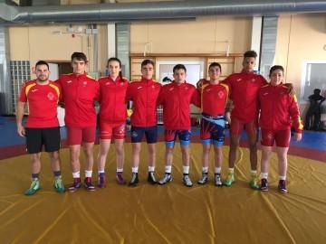 Deportistas Gallegos convocados con la Selección Nacional de Luchas Olímpicas