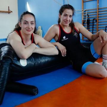 Noelia Lalín y Lydia Pérez