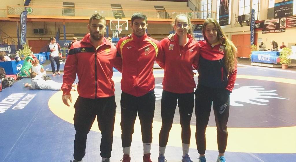 Damián Iglesias, Pablo García, Noelia Lalín e Lydia Pérez