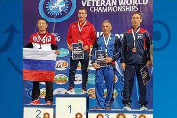 Roberto Estévez Campeón del Mundo máster