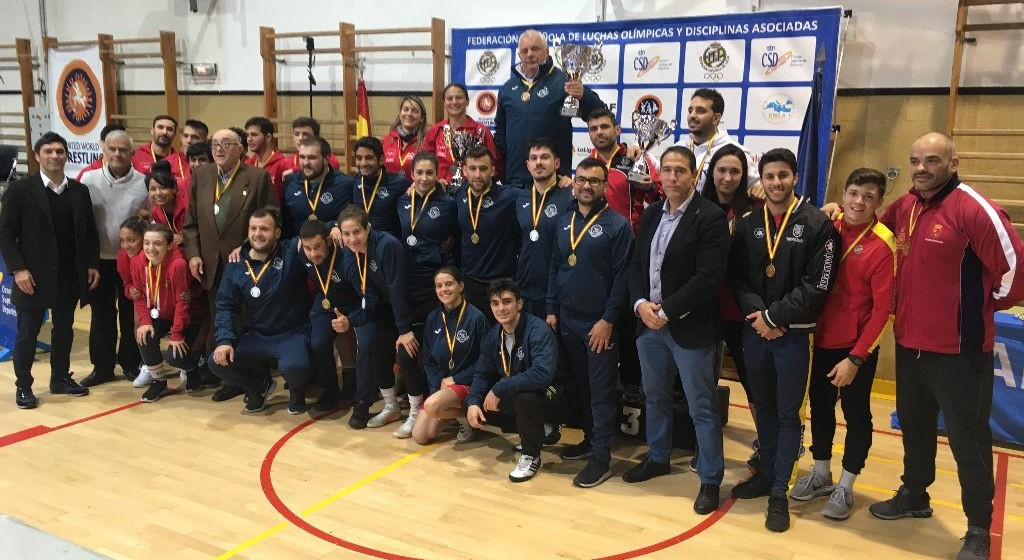 Podio nacional Galicia oro