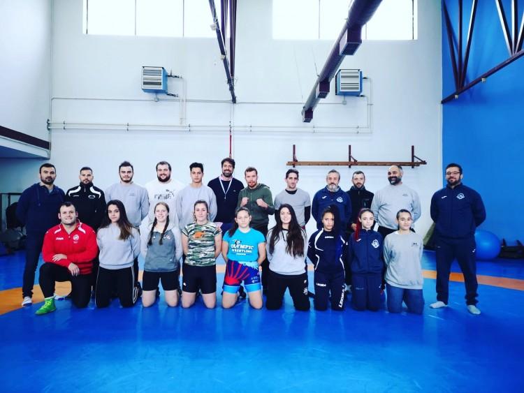 Clinic Luchas Olímpicas