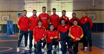 Selección Española de Luchas Olímpicas en Sofía, Bulgaria