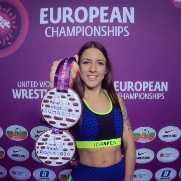Sara Vieitez doble medallista de bronce Europea