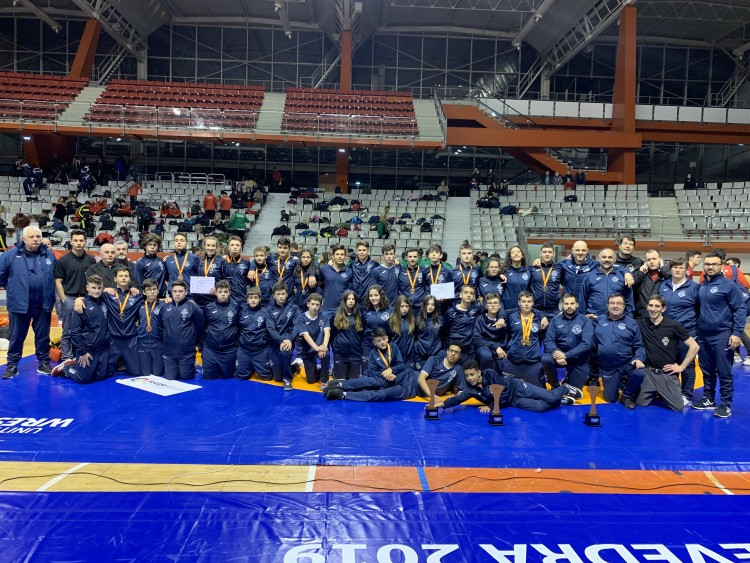 Seleccións Galegas escolar e cadete de Loitas Olímpicas