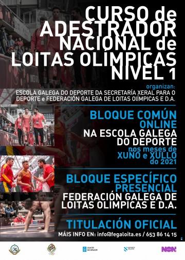 CAMBIOS CURSO DE ADESTRADOR NACIONAL DE LOITAS OLÍMPICAS NIVEL 1