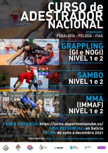 CAMBIOS CURSO DE ENTRENADOR NACIONAL GRAPPLING SAMBO E MMA