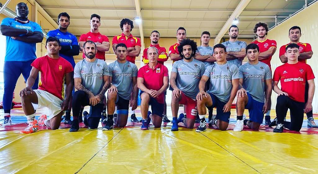 Selección nacional Luchas Olìmpicas